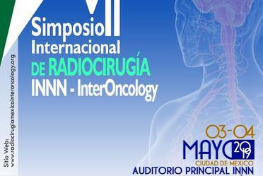 Cartel Congreso-Simposio Radiocirugía Mayo 2019