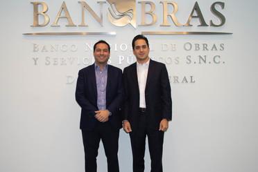 El Director General de Banobras, Jorge Mendoza Sánchez, sostuvo una reunión de trabajo con el Gobernador del Estado de Yucatán, Mauricio Vila Dosal