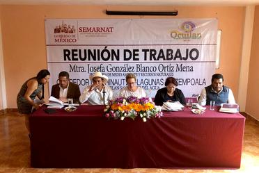 Reunión de trabajo Ocuilan, Edo Mex