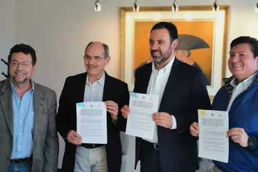 Firman CONAZA y Gobierno del Estado de Zacatecas convenio de colaboración, conjuntando esfuerzos para el desarrollo rural en Zonas Aridas.