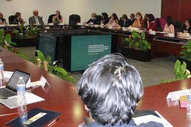 Personas asistentes a la 17ª Reunión del Grupo Interinstitucional para la Prevención del Embarazo en Adolescentes