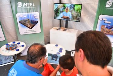 """Compartimos el trabajo realizado y conocimiento desde nuestro stand @INEEL_MX en el #7EncuentroTierra """"Energía: Motor del Futuro"""".en la Alameda Sta. Ma. La Ribera. CDMX."""