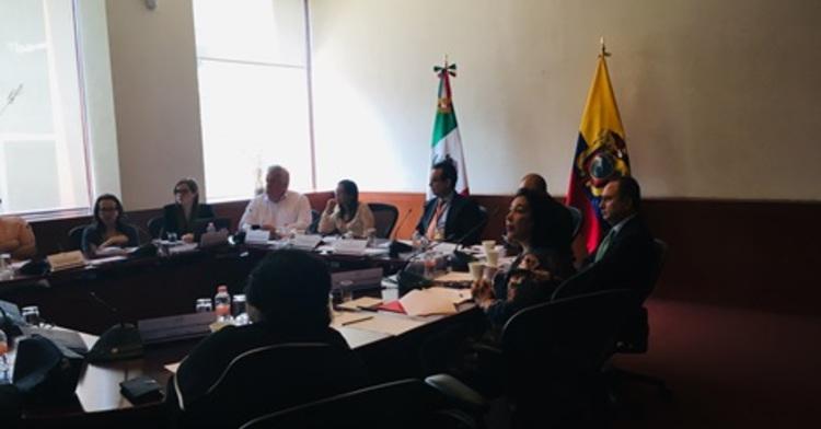 Reunión con la Dra. Verónica Espinosa Serrano, Ministra de Salud Pública de la República del Ecuador