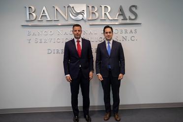 El Director General de Banobras, Jorge Mendoza, se reunió con el Gobernador de Oaxaca, Alejandro Murat