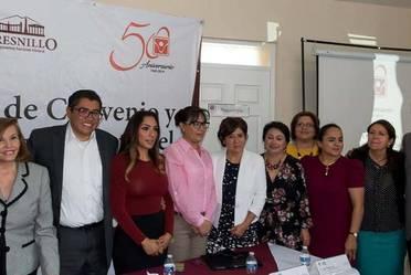 Firma de Convenio de CIJ y el Ayuntamiento de Fresnillo