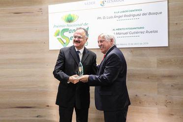 Por Labor científica, Luis Ángel Rodríguez del Bosque gana el Premio Nacional de Sanidad Vegetal 2018