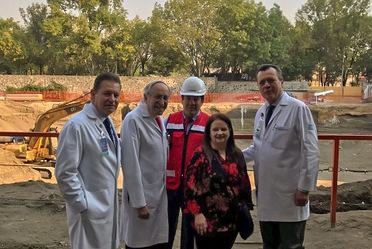 """La Comisionada, Mtra. Ivonne Cisneros, visitó las instalaciones del Instituto Nacional de Ciencias Médicas y Nutrición """"Salvador Zubirán"""""""
