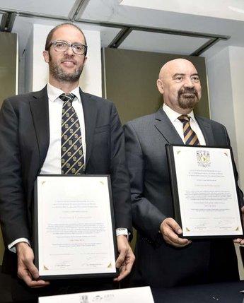 Firma de Convenio de Colaboración entre Agencia Reguladora del Transporte Ferroviario y FES Acatlán