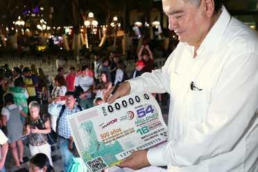 En el marco de los festejos por los 500 años de la Fundación de la Villa Rica de la Vera Cruz, la Lotería Nacional para la Asistencia Pública (LOTENAL) dedicó su Sorteo Mayor No. 3709 a esta histórica conmemoración