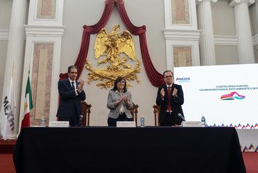 Inauguración de la 4a Convención Nacional Petrolera.