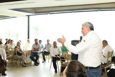 Visita de autoridades a Ciudad Madero, Tamaulipas.