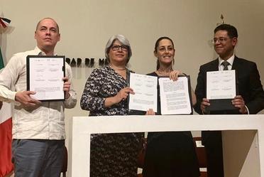 Firma convenio con el Gobierno de la CDMX