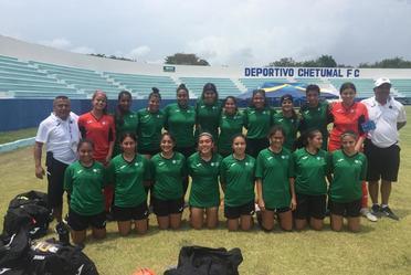 Olimpiada Nacional, Fútbol Femenil