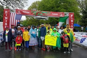 Cinco de Mayo 5k run (CLUB ATLÉTICO MEXICANO DE NUEVA YORK)