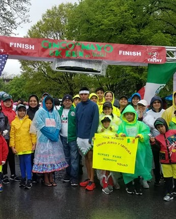 Cinco de Mayo 5k run (CLUB ATLÉTICO MEXICANO DE NUEVA YORK)