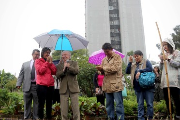 Inauguración del Encuentro de Huertos Urbanos