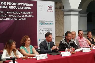 Foro para Impulsar la Ley de Mejora Regulatoria en el estado de Morelos.