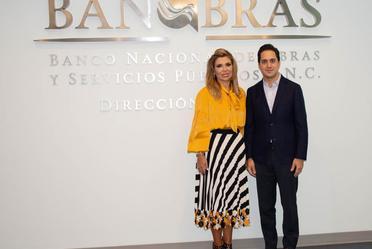 El Director General de Banobras, Jorge Mendoza Sánchez, se reunió con la Gobernadora de Sonora, Claudia Pavlovich, para hablar sobre proyectos de infraestructura de alto impacto social.
