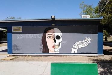 """Pintando el futuro: Concurso """"Pinta tu Barda 2019"""" en Los Mochis"""