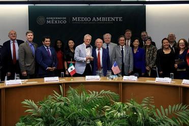 Reunión del titular de SEMARNAT con congresistas Estadounidenses