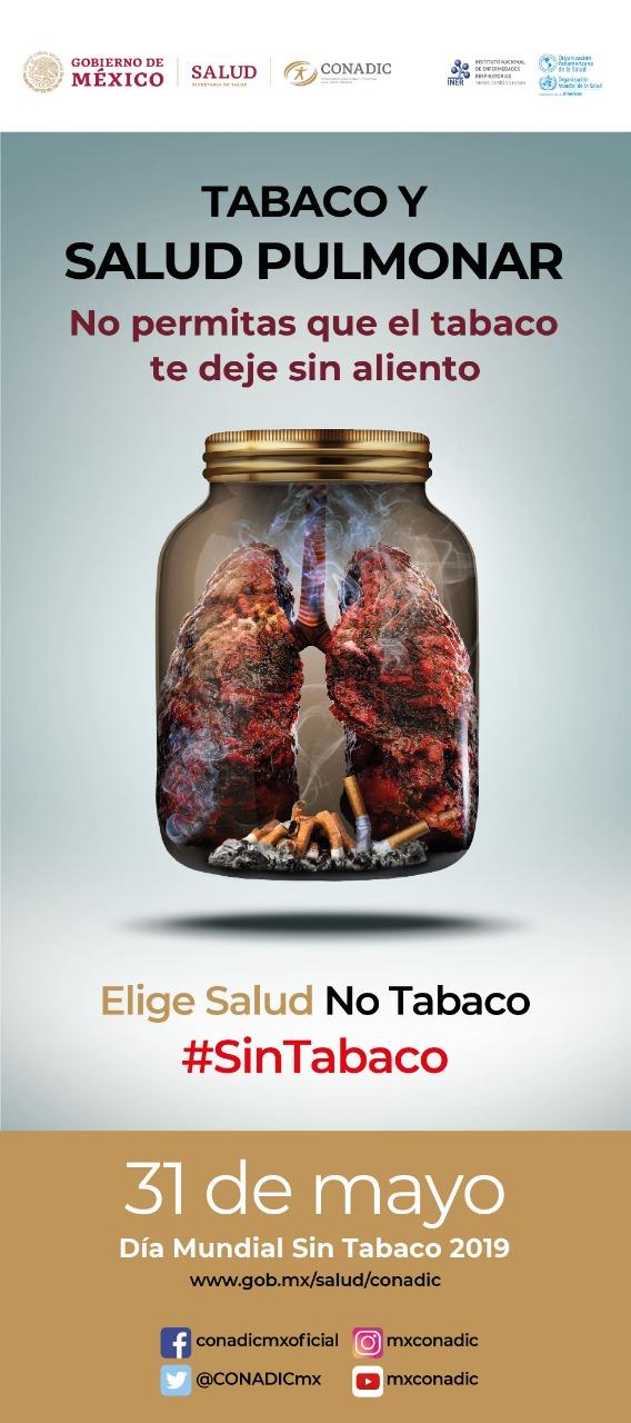 Imagen del Día Mundial sin Tabaco.