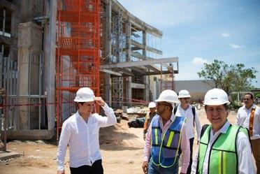 El Director General de Banobras, Jorge Mendoza Sánchez, estuvo en gira de trabajo por Tabasco, acompañado por el Gobernador del estado, Adán Augusto López Hernández