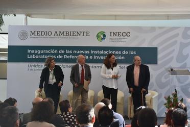 Inaugura INECC nueva sede de sus laboratorios de referencia e investigación