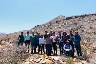 Estudiantes de la UACh visitan el Campo Experimental Todos Santos