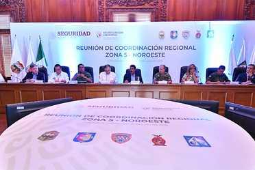 Reunión de Coordinación Regional. Zona 5 - Noreste