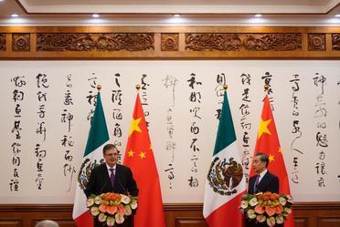 Visita de trabajo a China del canciller Marcelo Ebrard Casaubon