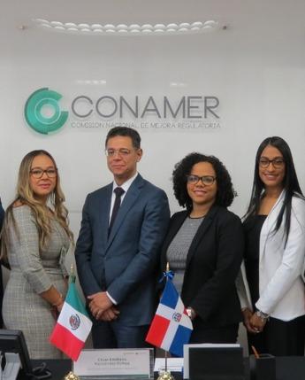 Capacitación a funcionarios de República Dominicana sobre herramientas de mejora regulatoria