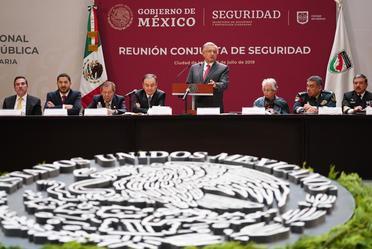 XLIV Sesión Ordinaria del Consejo Nacional de Seguridad Pública
