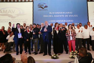 XLIV Aniversario del Día del Agente de Viajes y LXXIV Aniversario de Fundación de AMAV Nacional.