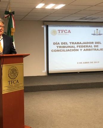 Día del Trabajador del Tribunal Federal de Conciliación y Arbitraje