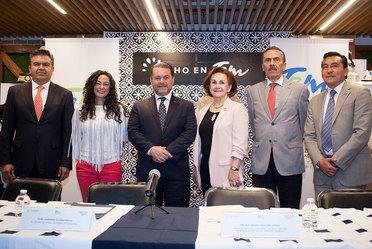 Inauguración de vendimia del estado de Tamaulipas como  invitado durante el mes de agosto a Punto México.