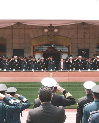Graduación de la 38/a. Antigüedad de la Maestría en Administración Militar en el Colegio de Defensa Nacional