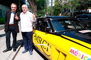 El Secretario de Turismo, Miguel Torruco Marqués y el director de La Carrera Panamericana, Carlos Cordero; dieron a conocer la alianza estratégica entre la Secretaria de Turismo y la Carrera Panamericana, este espectáculo deportivo se generarán 330 empleo
