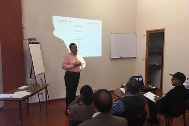 El taller fue impartido por el Mtro. David Olvera López, Director de Calidad en la CONAMED