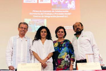 Convenio de colaboración con la Secretaría del Trabajo y Previsión Social
