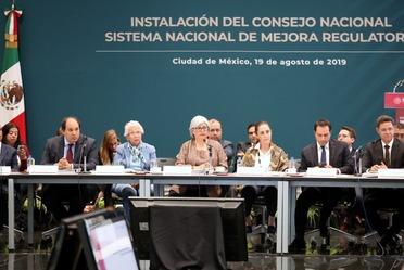 Instalación del Consejo Nacional de Mejora Regulatoria