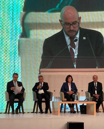Presentes #SIEC2019, Inaugura Dr. Alberto Montoya Martín, Subsecretario de Energía y  Ing. Hugo Gómez, presidente de CANAME.