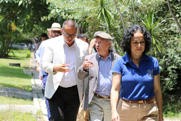 Visita del Secretario de Medio Ambiente Dr. Victor Toledo al IMTA