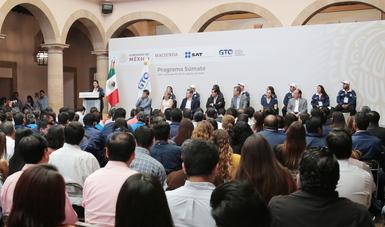 Programa Súmate promueve la formalidad en Guanajuato