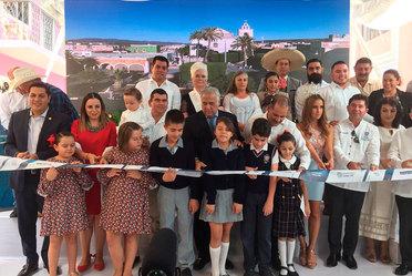 El Secretario de Turismo del Gobierno de México, Miguel Torruco Marqués, inauguró hoy, en la localidad de Calvillo, Aguascalientes,  el Museo Nacional de Pueblos Mágicos