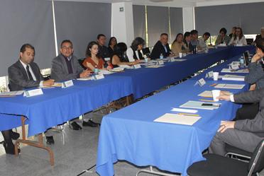 Representantes de las instituciones integrantes del  Comité Técnico Especializado de Población y Dinámica Demográfica
