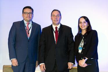 """Participación del Dr. Abraham E. Vela Dib en el evento """"2019 Mexico Opportunities Conference"""", de J.P Morgan"""