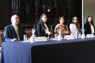 Rocío García Pérez, titular del SNDIF, presidió trabajos del 12° Congreso Internacional CUCCAL.