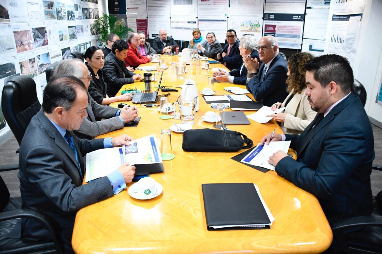 Reunión entre académicos de la UAM y el Comité Científico del Tren Maya