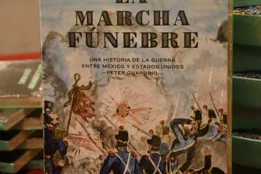 """Presentación del libro """"La marcha fúnebre""""  de Peter Guardino"""
