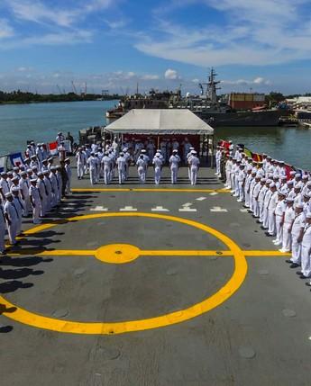 Fases de adiestramiento de las Fuerzas Navales